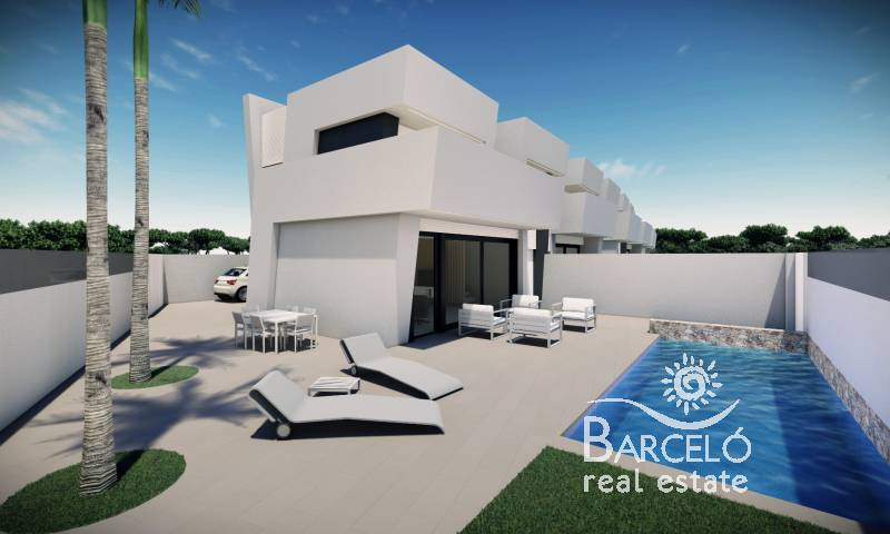 Attached - New Build - Santiago de la Ribera - Santiago de la Ribera