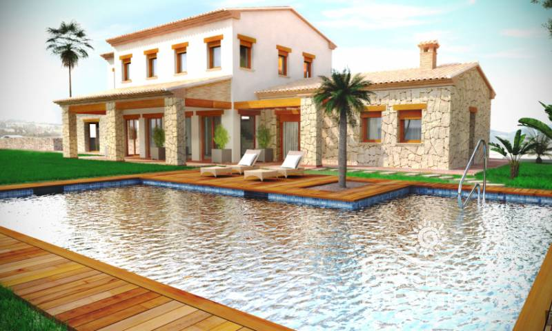 Country Property - New Build - Benissa - Pedramala