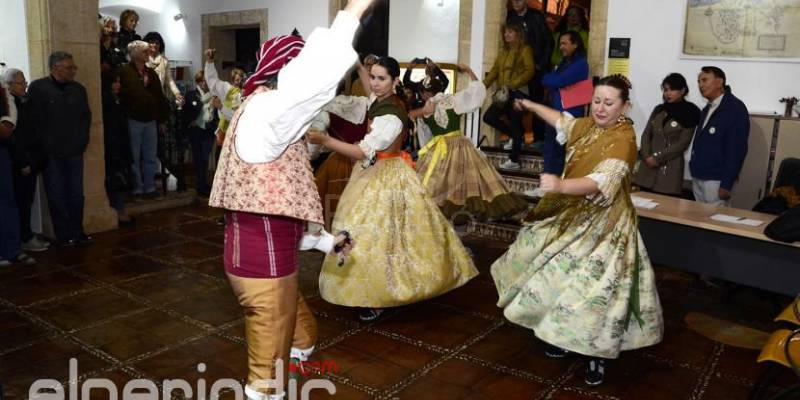 Xàbia opens a new night tourist route that includes traditional dances