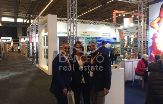 Barceló Real Estate participates in the 'Second Home EXPO' of Gent