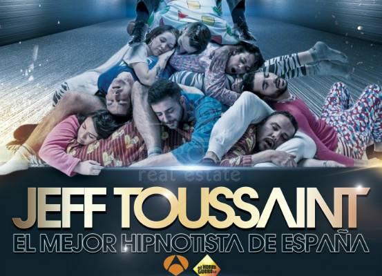 SATURDAY APRIL 16. The Hypnotist JEFF TOUSSAINT IN THE CAPITOL THEATRE.