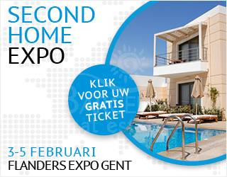 SECOND HOME EXPO FLANDERS EXPO GENT 3-5 FEBRUARY 2018