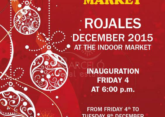 Friday, 4th  to Tuesday, 8th of December, 9th edition of Christmas Market.
