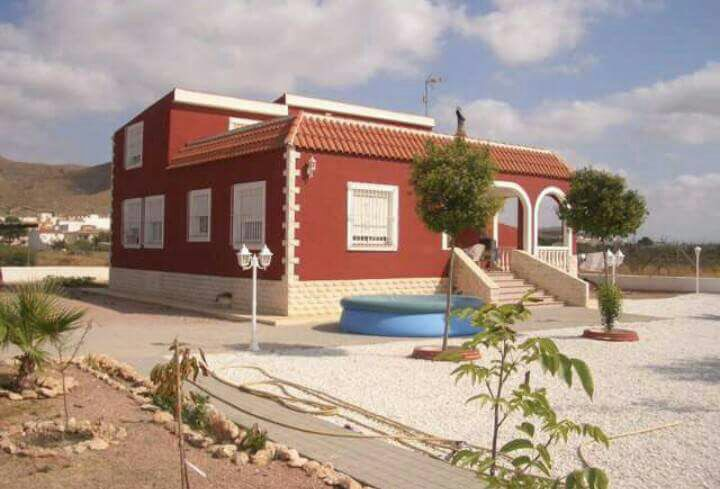 Boerderij met grond in Hondón de los Frailes - Bestaande bouw