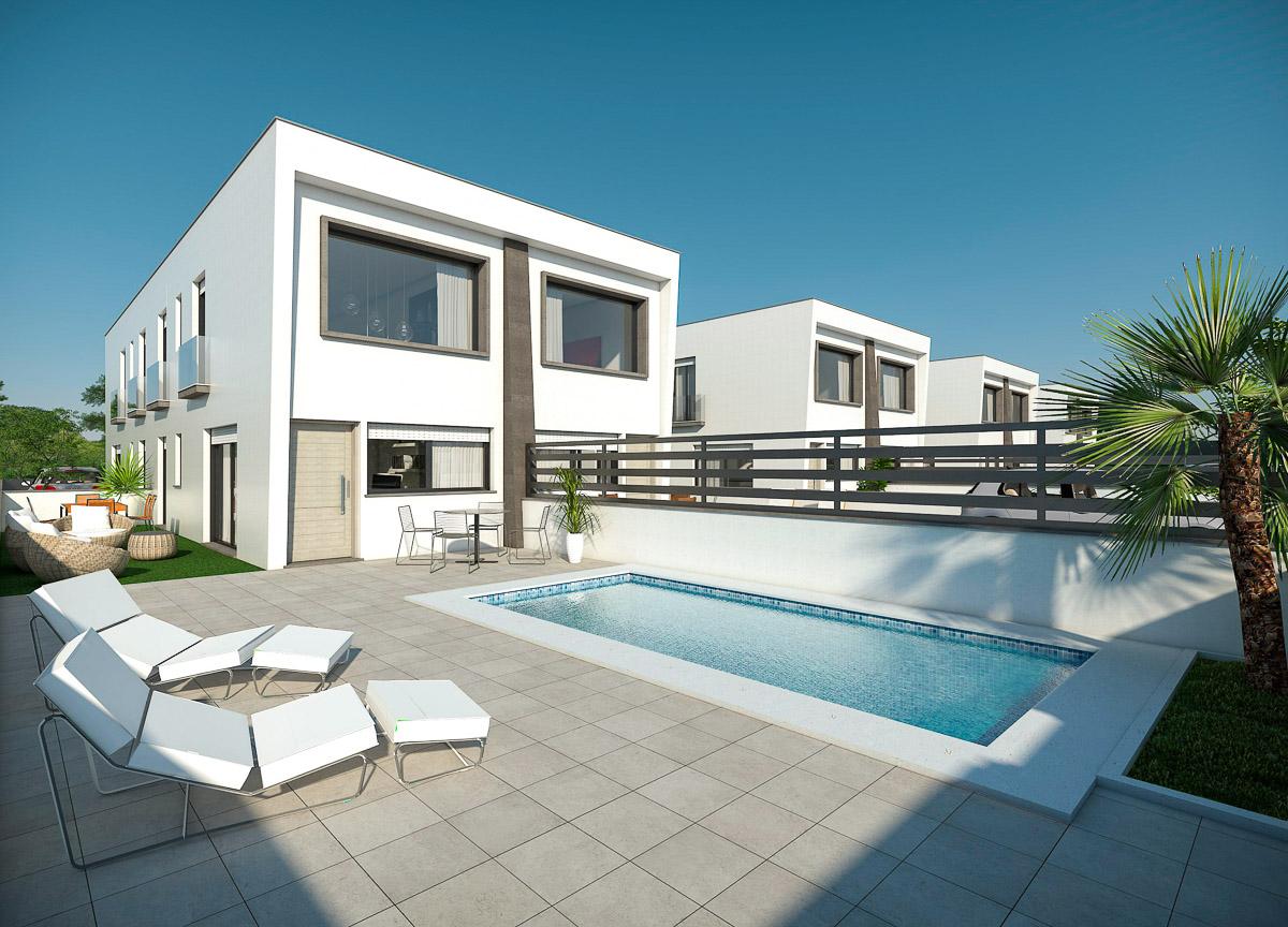 Maison à Monte y Mar-Mediterraneo-Novamar