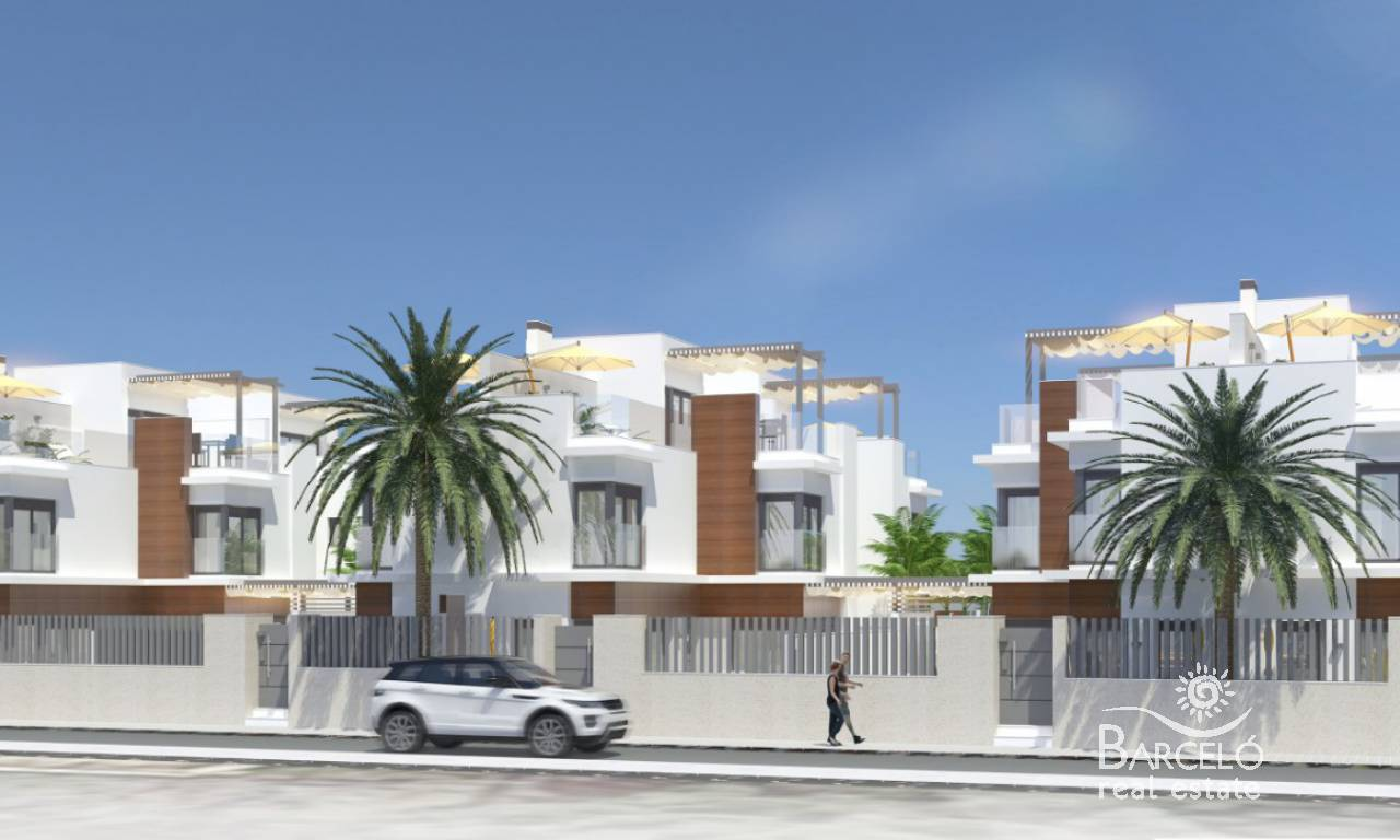 New Build - Attached - Santiago de la Ribera