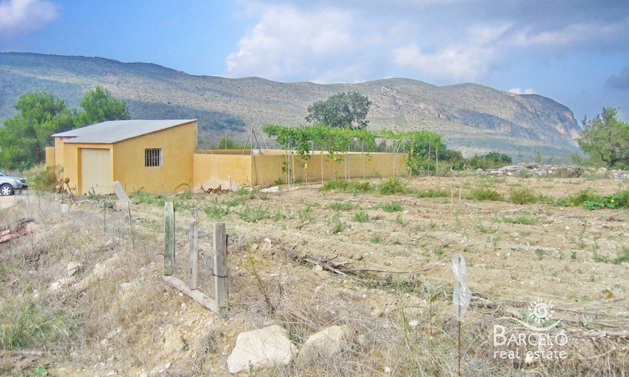 Resale - Plot  - Benissa - Partida Canor