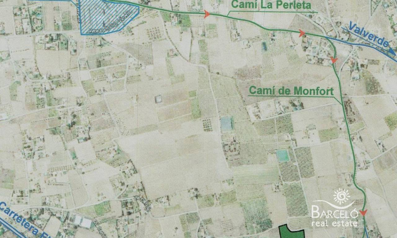 Resale - Plot  - Elche - Perleta
