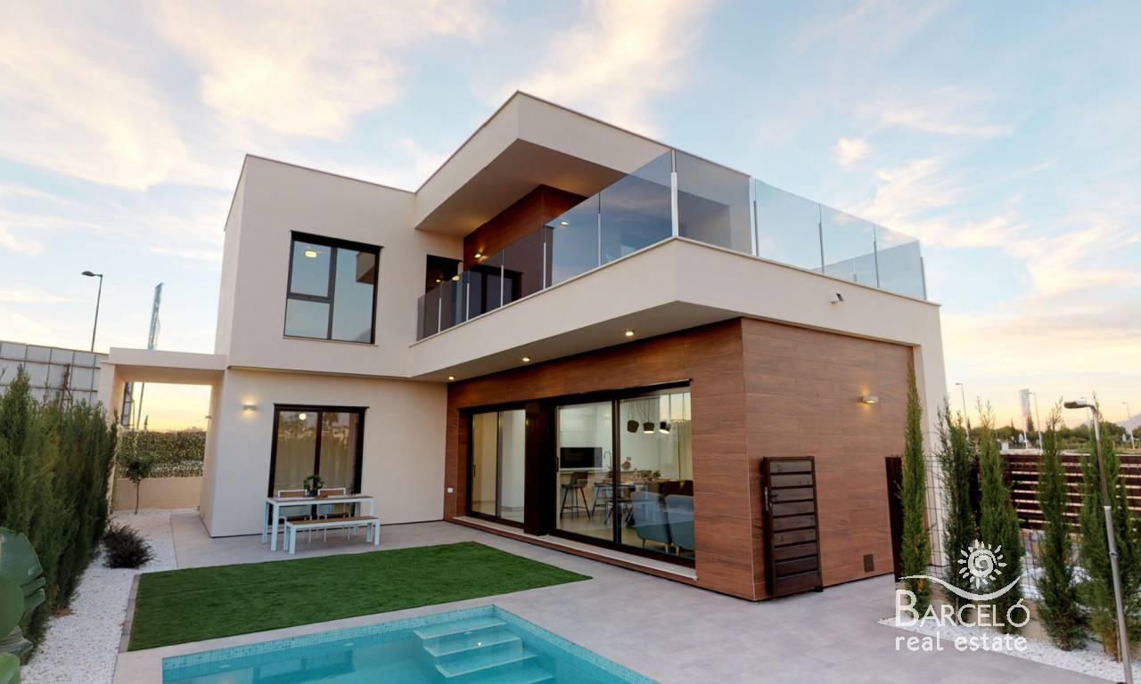 Neubau Einfamilienhaus San Javier Raqu