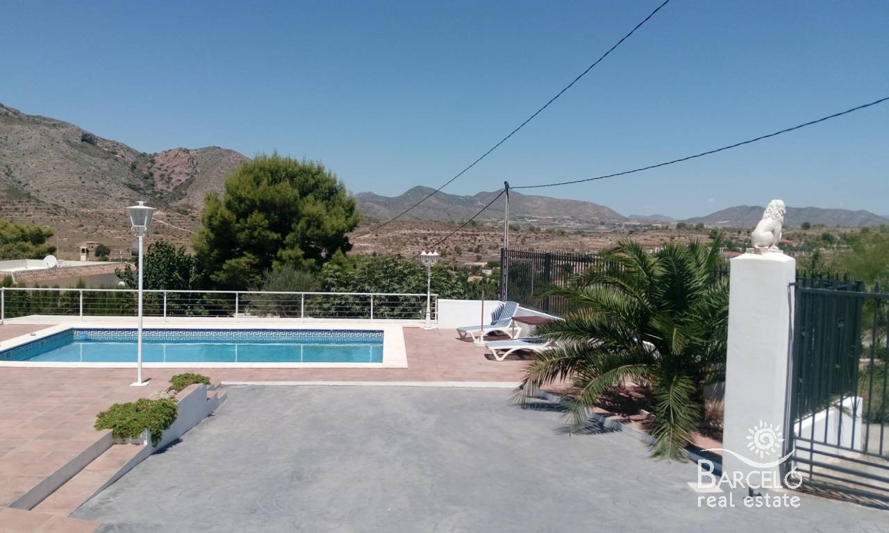 Resale - Country Property - Hondón de las Nieves