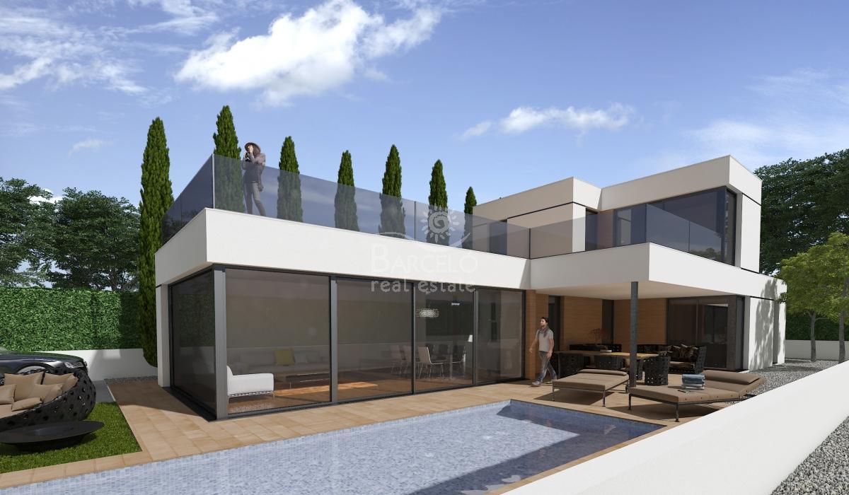 neubau einfamilienhaus san fulgencio. Black Bedroom Furniture Sets. Home Design Ideas